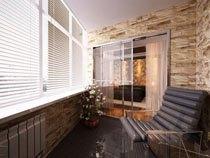 ремонт, отделка балкона в Туле